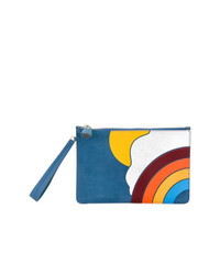 Anya Hindmarch Rainbow Motif Clutch
