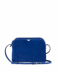 Multi pouch suede crossbody bag black medium 5261984