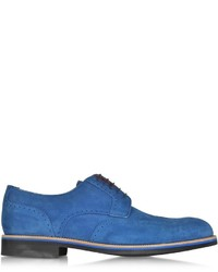 Atestoni oltremare suede derby shoe medium 318671
