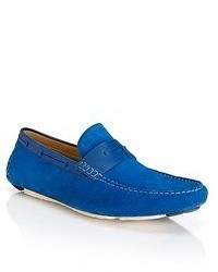 Hugo Boss Drennot Suede Driving Loafers