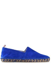 Blue Suede Espadrilles