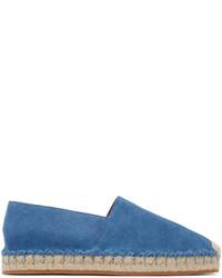 Valentino Blue Suede Espadrilles