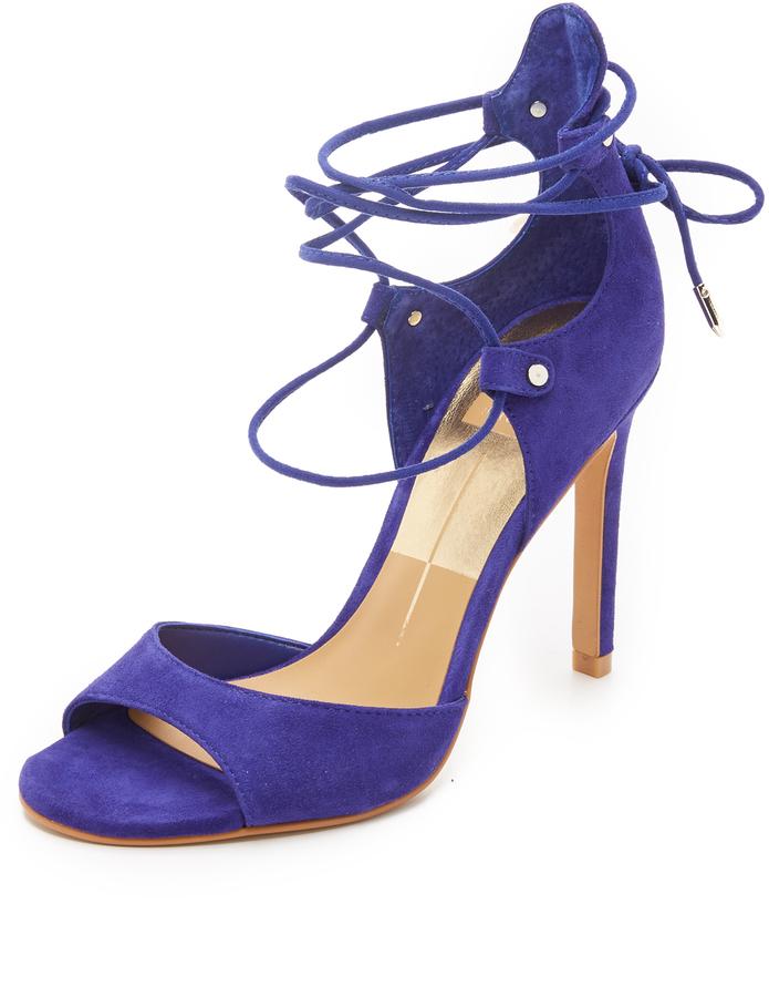 ... Blue Suede Heeled Sandals Dolce Vita Dolce Vita Hazeley Suede Sandals