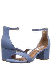 8defdeb7969 Women s Blue Suede Heeled Sandals by Steve Madden