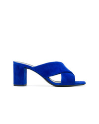 Saint Laurent Lou Lou Criss Cross Sandals