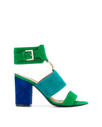 Via Roma 15 Ring Detail Heeled Sandals