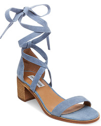 Steve Madden Rizza Lace Up Block Heel Sandals