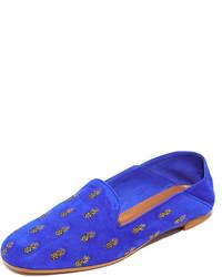 Aquazzura Ananas Summer Loafers