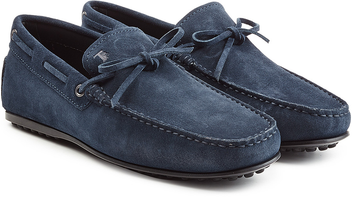 Tods Suede Loafers, $359   STYLEBOP
