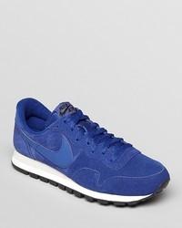 Nike Air Pegasus 83 Suede Sneakers