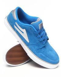 Lakai Carroll 5 Blue Suede Sneakers