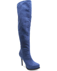 Lux over the knee boots medium 156594