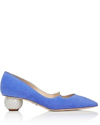 Paul Andrew Ankara Suede Pumps