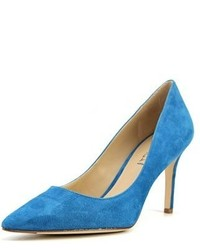Via Spiga Carola Pointed Toe Suede Heels