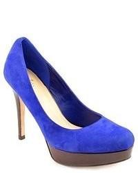 Cole Haan Mariela Air Blue Suede Pumps Heels Shoes