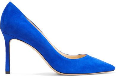 b2d8dbf871a1 ... czech jimmy choo jimmy choo romy suede pumps cobalt blue 0ba5a f7754