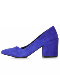 Topshop Joe Block Heel Court Shoes