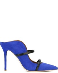 Malone Souliers Maureen Strappy Naked Heel Pumps