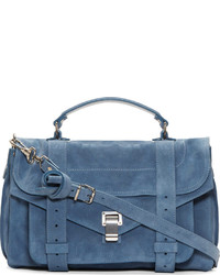 Breeze blue suede medium ps1 bag medium 227683