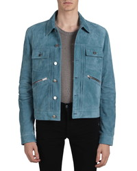 Amiri Suede Wrangler Jacket
