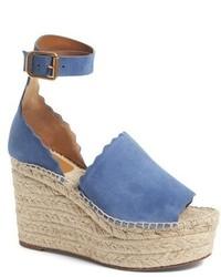 Chloe lauren espadrille wedge sandal medium 3751556