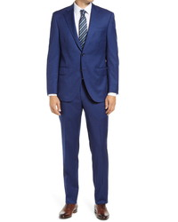 Peter Millar Flynn Graph Check Wool Suit