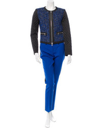 Michael Kors Michl Kors Colorblock Tweed Pantsuit