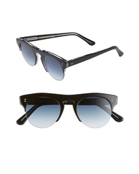 CUTLER AND GROSS 48mm Polarized Browline Sunglasses