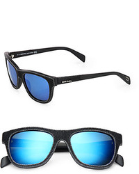 Diesel 52mm Denim Wayfarer Sunglasses