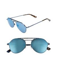 WEB 56mm Aviator Sunglasses