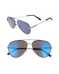 Salvatore Ferragamo 59mm Aviator Sunglasses