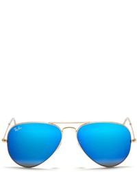 Ray-Ban Aviator Large Metal Mirror Sunglasses