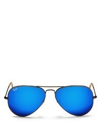 Ray-Ban Aviator Large Metal Mirror Sunglasses