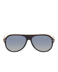 Tom Ford Black Nicholai Sunglasses