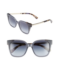 kate spade new york Clyns Basic 52mm Sunglasses