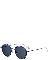 Dior round open work metal sunglasses medium 925653