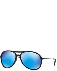 Ray-Ban Flash Acetate Aviator Sunglasses