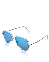 Ray-Ban Flash Mirror Liteforce Aviator Sunglasses