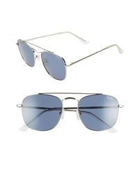 Quay Australia Helios 55mm Polarized Navigator Sunglasses