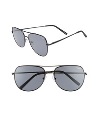 Quay Australia Living Large 58mm Aviator Sunglasses