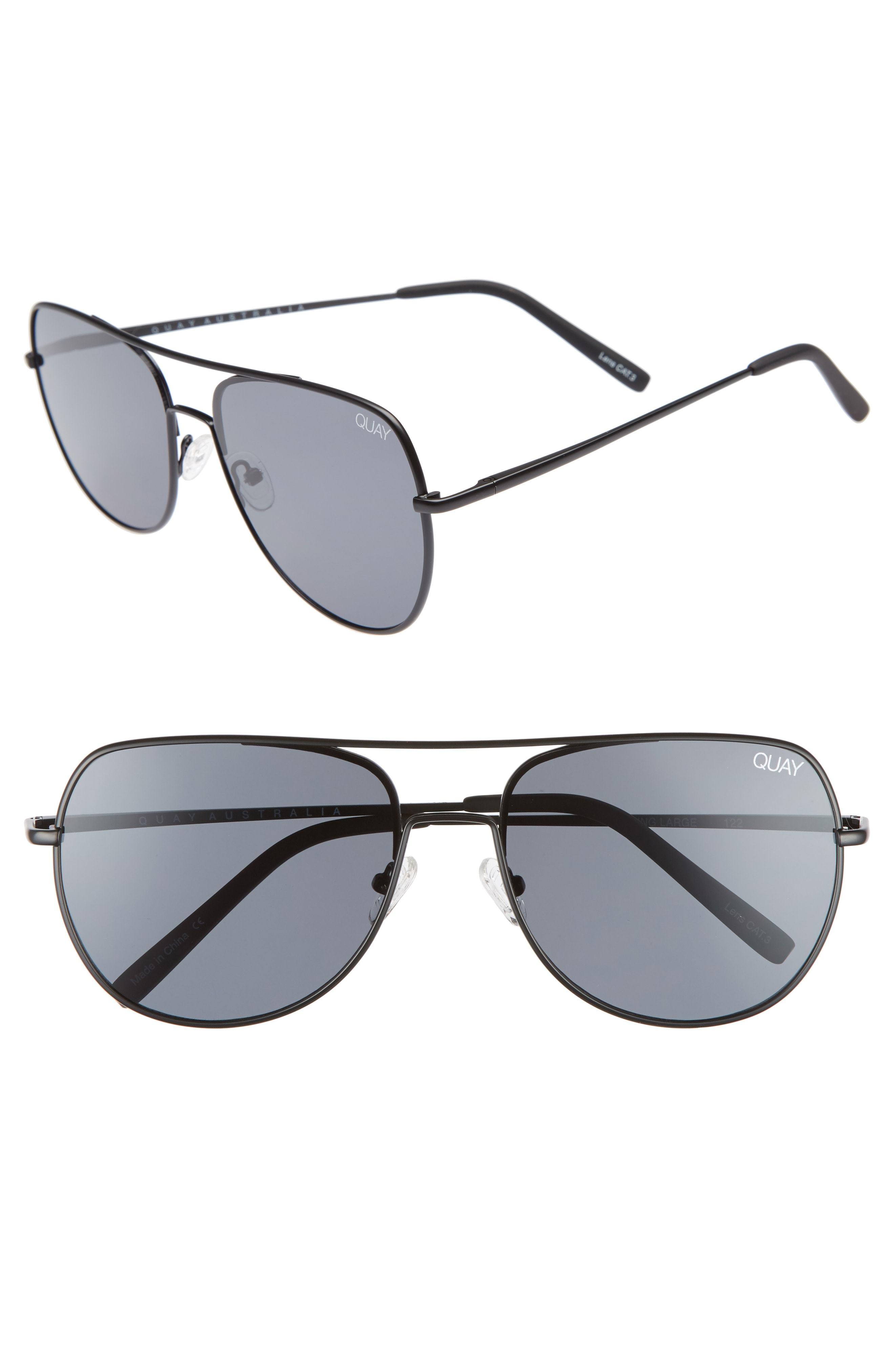 e56fad6d2d Quay Australia Living Large 58mm Aviator Sunglasses