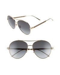Jimmy Choo Noria 61mm Special Fit Gradient Aviator Sunglasses