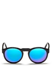 Super Paloma Cove Ii Acetate Oval Mirror Sunglasses