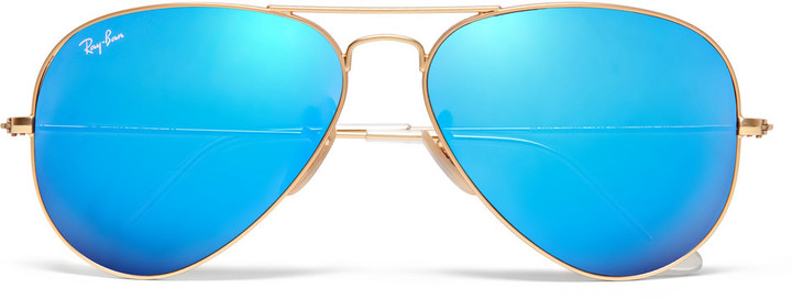 Polarised Mirror Sunglasses  ray ban polarised mirrored metal aviator sunglasses where to