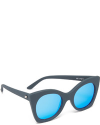 Le Specs Savanna Mirrored Sunglasses