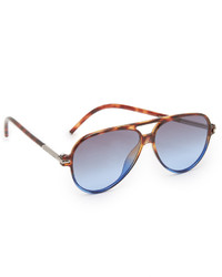 Marc Jacobs Shady Aviator Sunglasses