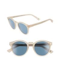 AHLEM St Germain 49mm Round Sunglasses