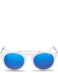 Sunday Somewhere Heeyeh Mirror Mother Of Pearl Sunglasses