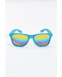 Urban Outfitters Rainbow Flash Square Sunglasses