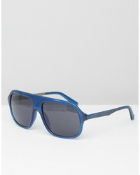 Calvin Klein Visor Sunglasses Blue